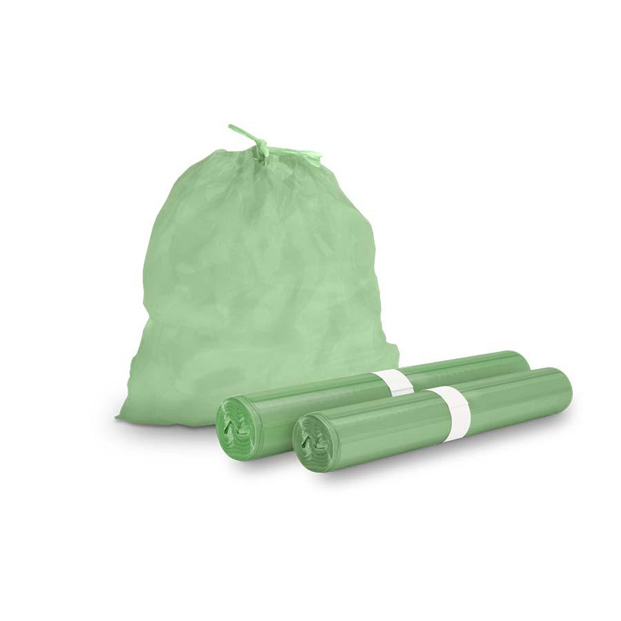 Bio Müllbeutel, grün