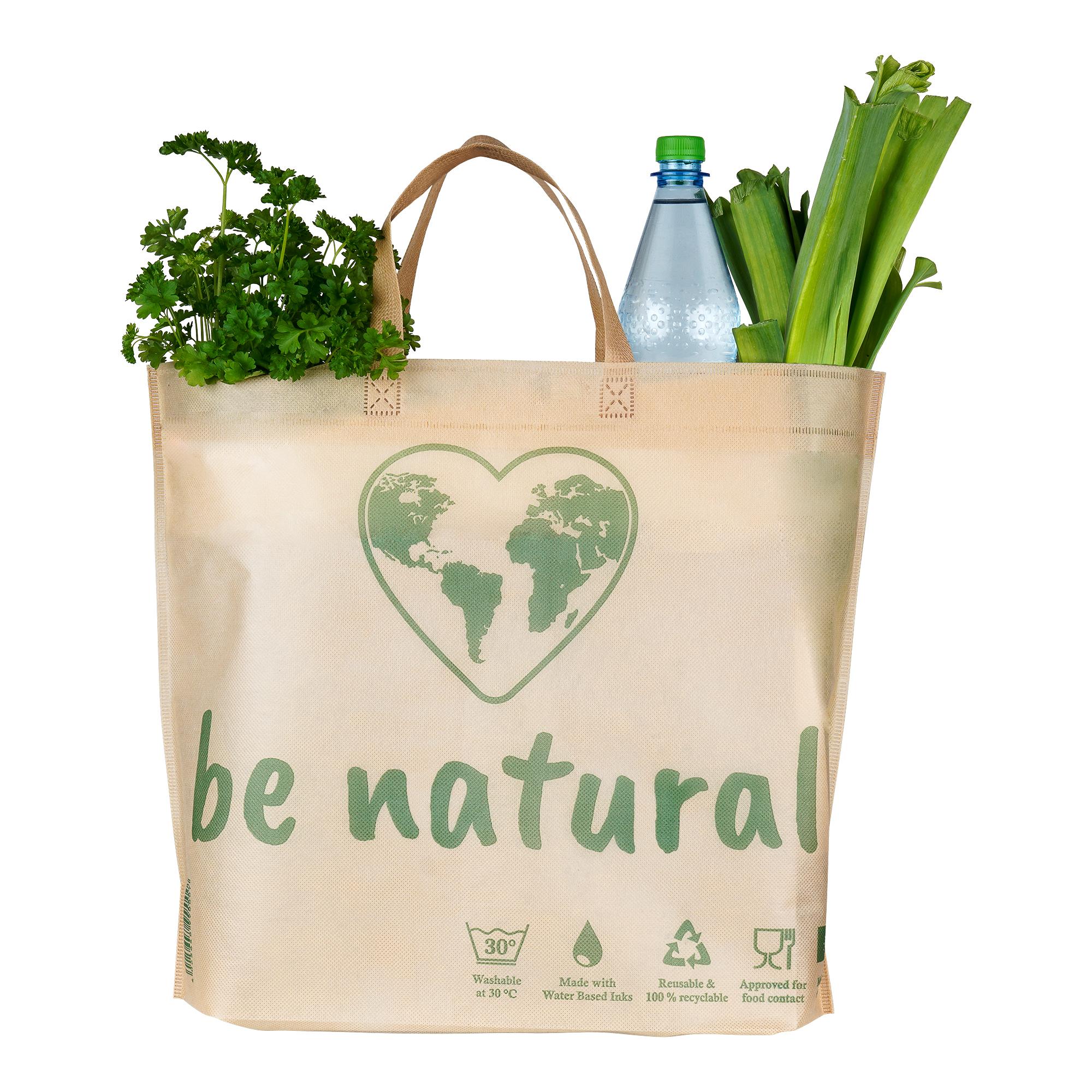 Be Natural Mehrwegtaschen Beige